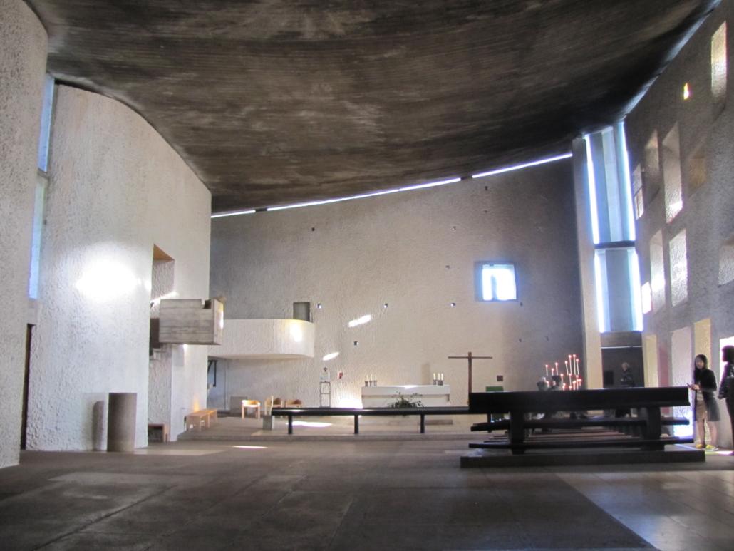 Het interieur van de kapel
