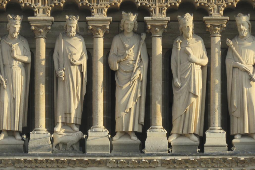 Enkele koningsbeelden