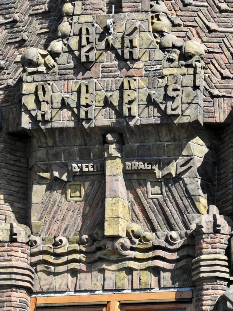 Decoratie in baksteenwerk
